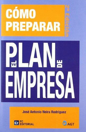 9788492735273: Cómo preparar el Plan de Empresa