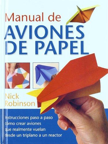 9788492736133: Manual de aviones de papel