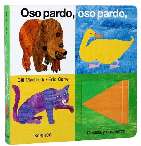 9788492750269: Eric Carle - Spanish: Oso Pardo, Oso Pardo, Que Ves?