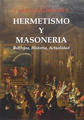 9788492759835: HERMETISMO Y MASONERIA