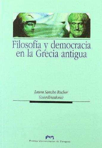 9788492774197: Filosofía y democracia en la Grecia Antigua (Spanish Edition)