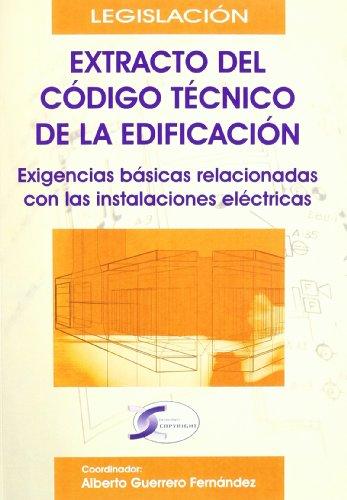 EXTRACTO DEL CODIGO TECNICO DE LA EDIFICACION: Alberto Guerrero Fernández