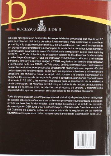 9788492788682: PROTECCION CIVIL DE LOS DERECHOS FUNDAMENTALES
