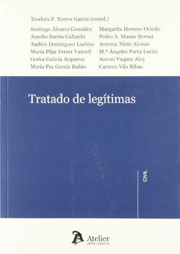9788492788866: Tratado de legítimas. (Atelier civil)