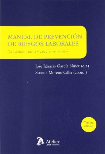 9788492788941: MANUAL DE PREVENCION DE RIESGOS LABORALES