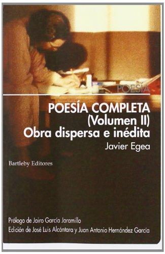9788492799534: POESÍA COMPLETA (VOLUMEN II)
