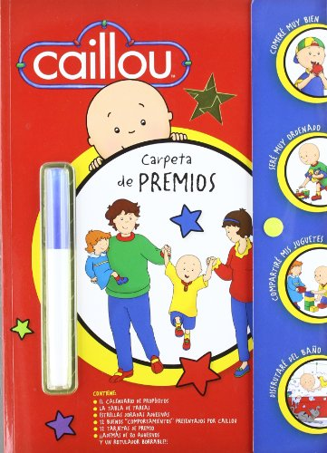 9788492809431: CAILLOU. CARPETA DE PREMIOS (INC.PEGATINAS+POSTER)