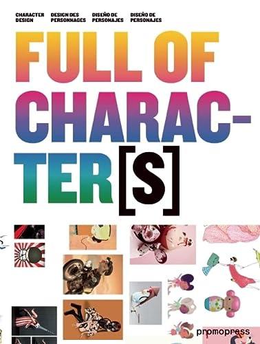 9788492810352: Full Of Characters. Diseño De Personajes (+Cd-Rom)