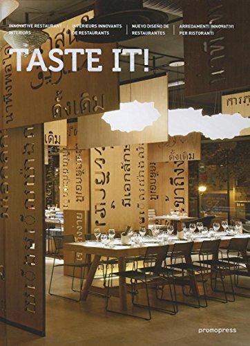9788492810581: Taste It!: Innovative Restaurant Interiors