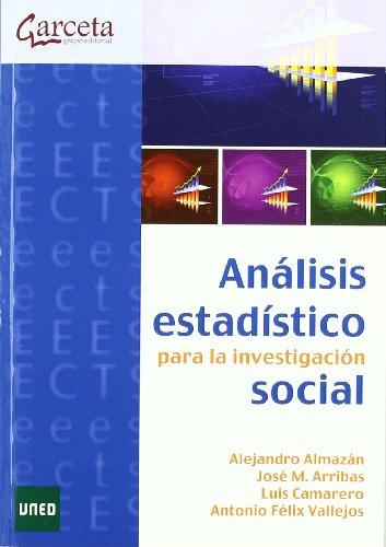 9788492812028: Análisis estadístico para la investigación social