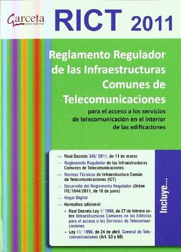 9788492812448: Reglamento regulador de las infraestructuras comunes de telecomunicaciones