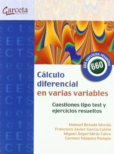 9788492812837: Cálculo diferencial en varias variables