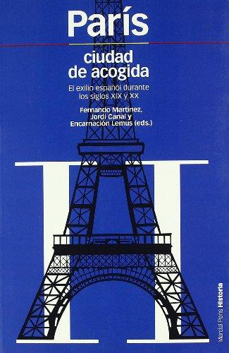 9788492820122: París, ciudad de acogida