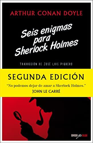 9788492840465: Seis enigmas para Sherlock Holmes (Navona Negra) (Spanish Edition)