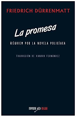 9788492840656: La promesa (Navona Negra)