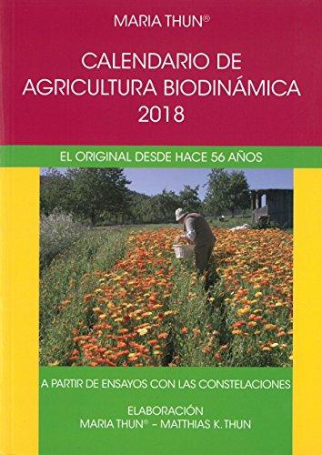 Thun Calendario.9788492843770 Calendario De Agricultura Biodinamica 2018