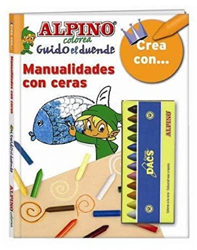 9788492845002: Crea con... manualidades con ceras (Guido El Duende (alpino))