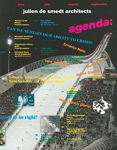 Agenda: Julien de Smedt Architects: Can We Sustain Our Ability to Crisis? (Paperback): Jesse ...