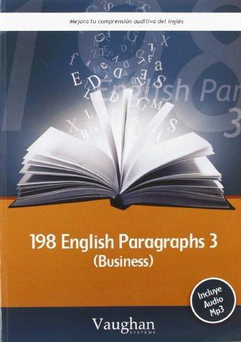 198 English Paragraphs 3 Business + cd: Vaughan