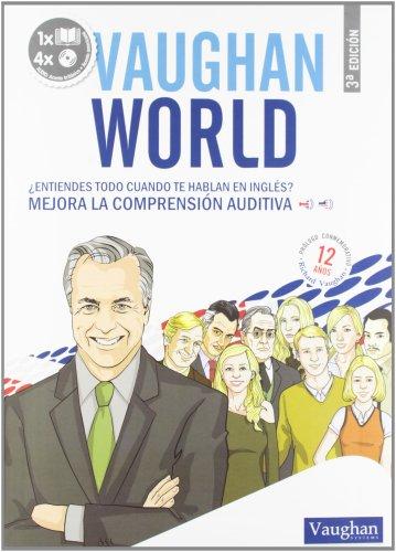 9788492879496: VAUGHAN WORLD - Acento britanico y americano (libro + 4 CDs)
