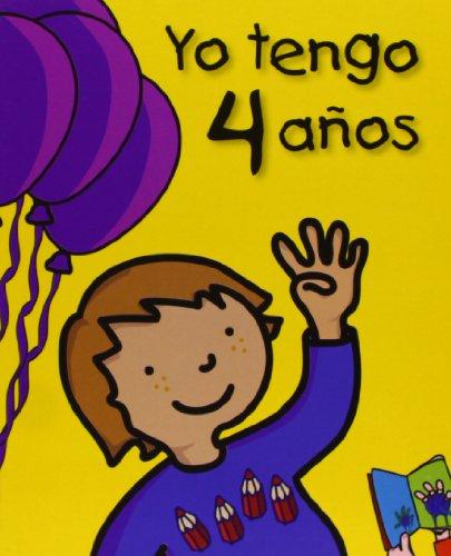 9788492880034: Yo tengo 4 años (Mi cumpleaños)
