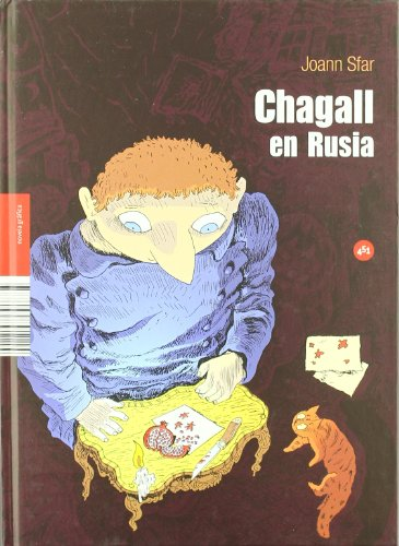 9788492891115: Chagall En Rusia (Novela Gráfica)