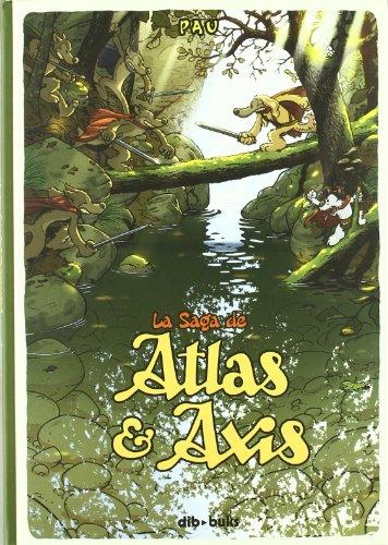 9788492902538: La saga de Atlas y Axis 1 (AVENTURATE)