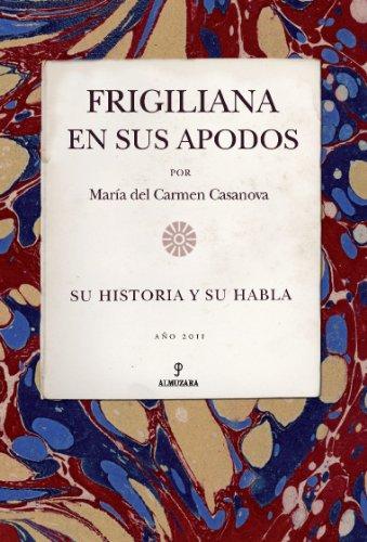 FRIGILIANA EN SUS APODOS: MARIA DEL CARMEN