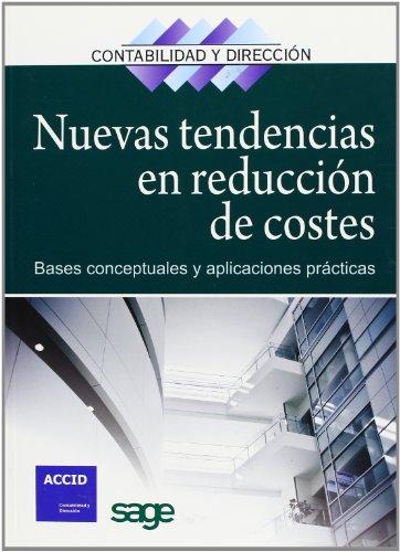 9788492956319: Nuevas tendencias en reducción de costes: Bases conceptuales y aplicaciones prácticas