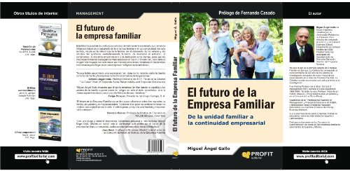 9788492956593: EL FUTURO DE LA EMPRESA FAMILIAR (Spanish Edition)