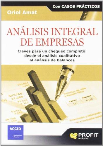 9788492956609: ANALISIS INTEGRAL DE EMPRESAS