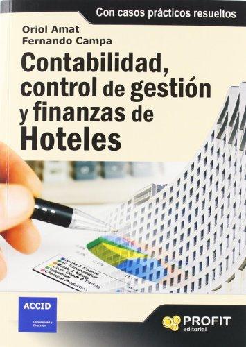 CONTABILIDAD, CONTROL DE GESTION Y FINANZAS DE: ORIOL AMAT y