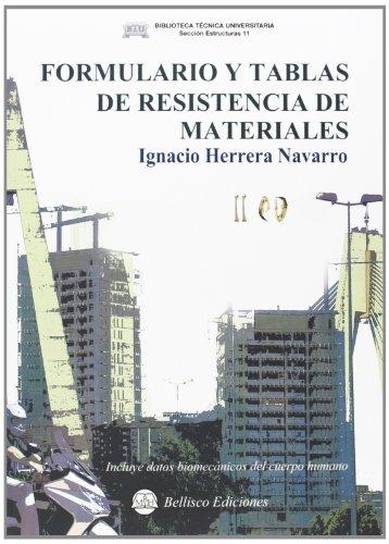 9788492970513: Formulario y tablas de resistencia de materiales