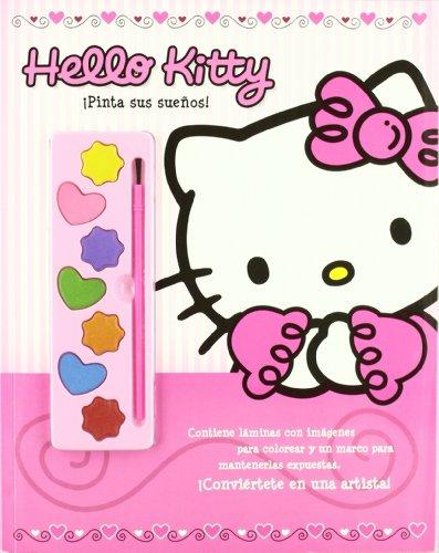 9788492985050: Hello Kitty, ¡Pinta sus sueños!