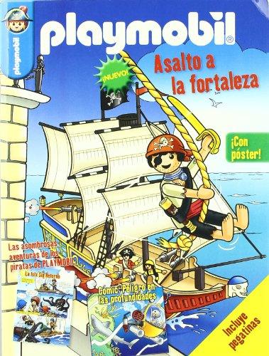 9788492985968: Playmobil - asalto a la fortaleza (con poster)