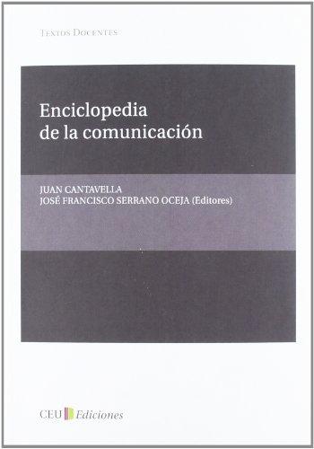 9788492989911: Enciclopedia de la comunicación