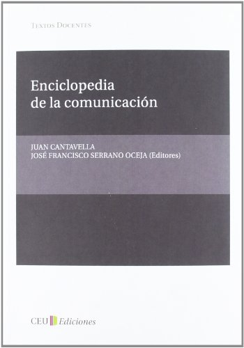9788492989911: Enciclopedia de la comunicación (Textos Docentes)