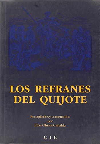 9788493001636: Los Refranes Del Quijote