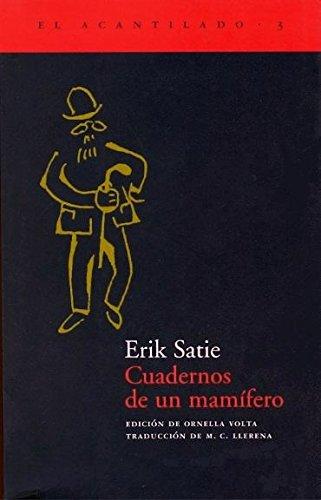 9788493065713: Cuadernos de un mamífero (El Acantilado)