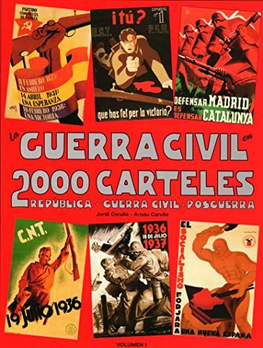 9788493107864: GUERRA CIVIL EN 2000 CARTELES