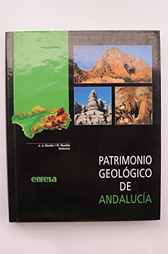 9788493122409: Patrimonio geologico de Andalucía
