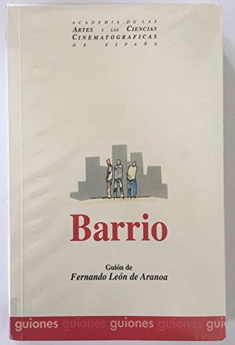 9788493141509: Barrio (guion de la pelicula)