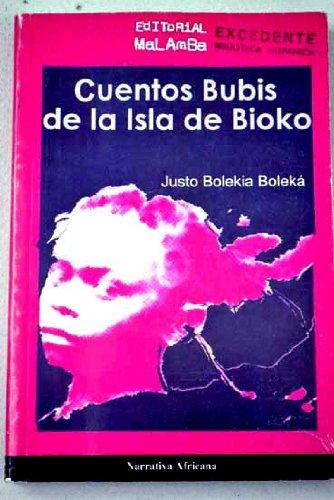 9788493167059: Cuentos Bubis De La Isla De Bioko