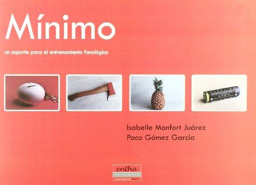9788493201340: Mínimo. Un soporte para el entrenamiento fonológico (c/Anexo)(R)(2002)