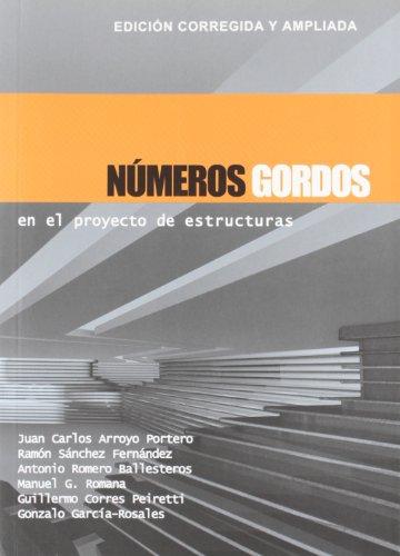 9788493227043: Números gordos en el proyecto de estructuras