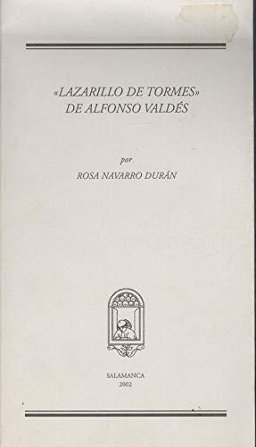 9788493234652: Lazarillo de tormes de Alonso Valdés