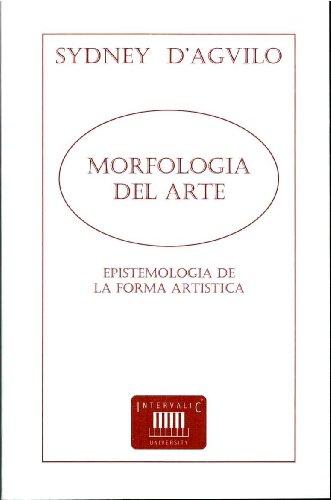 9788493237196: Morfología Del Arte. Epistemología De La Obra Artística