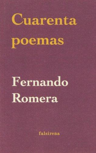 9788493241520: Cuarenta poemas