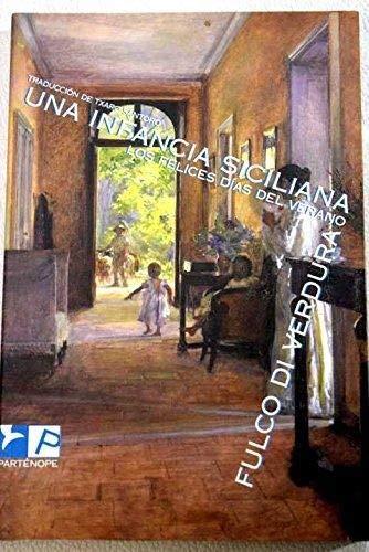 9788493289041: Infancia siciliana, una
