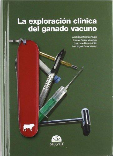 9788493292195: Exploracion clinica del ganado vacuno, la